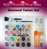 Diamond Tattoo Set with Tattoo Stencils