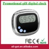 Beautiful shape LED talking digital clock for promotion
