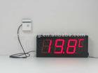 4 inch 3 digit Wall Mounted Digital Temperature Display