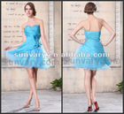 Best Price Fashion Blue A-line Sweetheart Short Cocktail Dresses Homecoming Dresses