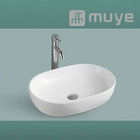 Vitreous China Artistic Lavatory Countertop Basin MY-5246