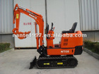 820KG NT08 NANTE hydraulic crawler mini digger with CE mark and yanmar engine