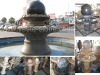 Natural Stone Black Marble Fountain