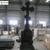 granite angel monument tombstone