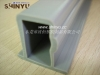 Plastic rectangle PVC tube