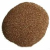 Golden vermiculite powder