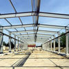 structural steel fabrication project