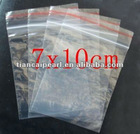 800 PCs 7 X 10 cm Ziplock Zipper Zip Lock Baggies Resealable Poly Plastic Bags