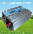 High Frequency Grid tie power inverter 200W