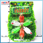 43*31cm pull back plastic toy parrots for kids