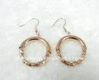 Elegant Stainless steel golden earring designs for women