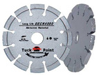 Tuck point small diamond Saw blade for long life removing abrasive material(GECK)