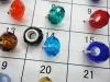 Large hole rondelle beads