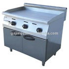 Gas griddle with cabinet (GH-36A)--with gas safety protection