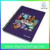 Purple Cartoon Spiral Notebook