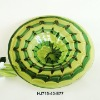 Phoenix Art Fancy Glass Plate