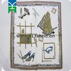 wholesale printed silk square scarf