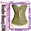 2012 New lawngreen corset with bowknot