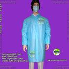PP lab coat (SMS lab coat, non woven lab coat)