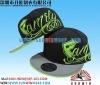 custom flat brim cap