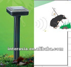 solar ground rodent repeller