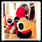 HOT winter lovely panda warm Coral Fleece dog clothes