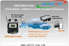 Restaurant SMS Printer (Used for Food order online, We Offer online Help and Test)