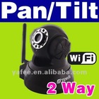 WPA Wireless WiFi IP Camera CCTV PT Webcam 2 way audio