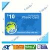 Printing prepaid phone card