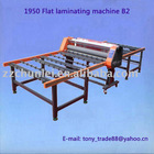 1950 Flat laminator glass machine