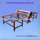 1950 Flat laminator glass machine
