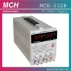 MCH-302B dc power supply,0-30V/2A continuously variable single output, w/ 5V2A fixed output