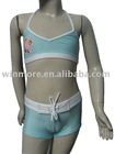 Newest girl's lovely swimwear children swimwear kids bikini