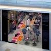 500*500mm Decorative liquid tiles, liquid color floor tile
