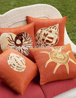 The Central African Republic style decorative cotton / polyester cushions