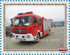 Top design Famous isuzu 4*2 military fire truck