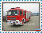 Top design Famous isuzu 4*2 military fire truck