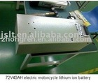 72V40AH electric motocycle lithium iron battery