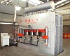 Melamine mdf hot press machine for short cycle lamination