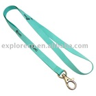 Cheap promotion lanyard with simple hook