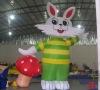 rabbit inflatable model
