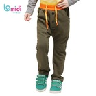 Kids Beautiful Model Soft Fabric Wear baby Boy Elastic Cord Long Pants Teen Boys Winter Trousers