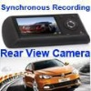 "GPS Car DVR Dual 2.7"" LCD HD Car Recorder Video, Dual Camera Car DVR"