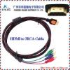 RCA to HDMI Cable,HDMI TO 3RCA Cable,HDMI To RCA Cable RGB Audio Video AV Component