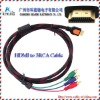RCA to HDMI Cable,HDMI TO 3RCA Cable,HDMI To RCA Cable RGB Audio Video AV Component