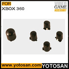 For Xbox 360 Black ABXY/Turn button set for Controller parts