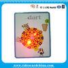 Christmas gift flash tin box with led light