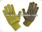 Kevlar Cut-Resistant Dotted Security Gloves