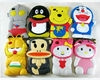 Multi Cartoon Doraemon/Garfield/Pooh/Ultraman Top Quality Silicon 3D Case For iphone 4G/4S