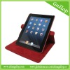 360 degree Glittery synthetic leather, Versatile design portfolio style cover/case for IPAD2